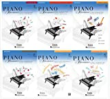 NEW Collection - Faber Piano Adventures Level 2A Books Set (6 Books) 2nd Edition - Lesson, Theory, Technique & Artistry, Performance, Sightreading, Popular Repertoire