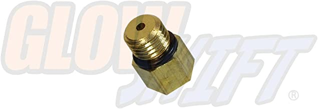 GlowShift Fuel Pressure Sensor Thread Adapter for 2003-2007 6.0L Ford F-250 F-350 Super Duty Power Stroke Diesel - Installs to The Fuel Filter Housing - Includes O-Ring