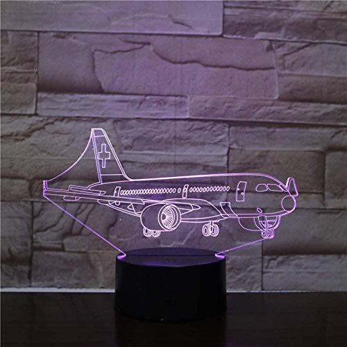 YOUPING 3D LED lámpara USB Luz de Noche de Lava LED RGB Luz Mesa Niños Regalos de Navidad