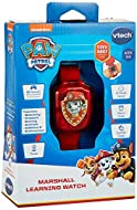 The VTech Paw Patrol Skye Learning Watch is a great wearable gadget for children! Help Skye, Marshall, Chase on their missions! Includes an alarm, timer & stopwatch functions. Features 4 built-in games to introduce and reinforce the learning of match...