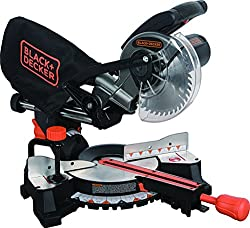 "Black+Decker SM1850BD 7-1/4"" Sliding Compound Comparison"