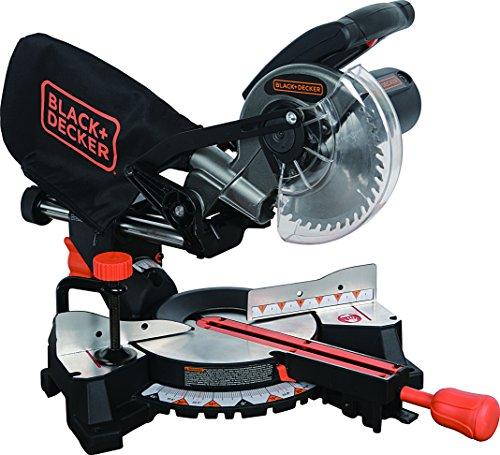 Black+Decker SM1850BD 7-1/4' Sliding Compound Miter Saw