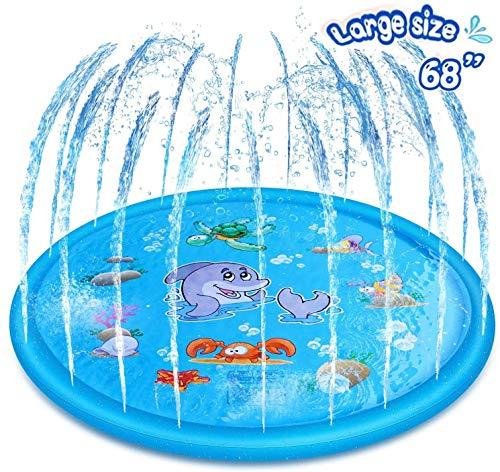 Basbe Sprinkler Splash Pad BIG Discount with Code!