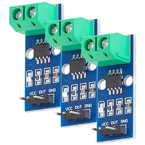 AZDelivery 3 x ACS712 20A Ampere Stromsensor Range Modul Current Sensor kompatibel mit Arduino Bascom
