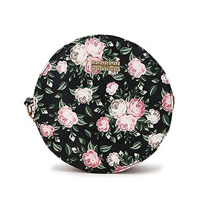 FRATRIS Women Girls Floral Print Round Sling Bag Cute Look New Design