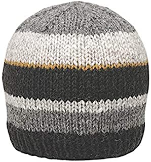 Men's Warm Winter Wool Knit Eric Beanie | Ethical Fair Trade Production | Handmade in Nepal