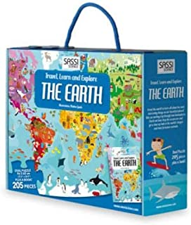 Sassi Junior Travel, Learn and Explore - The Earth