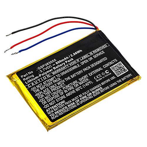 CELLONIC® Batterie Premium Compatible avec JBL Clip 2, Clip 2 an, CLIP2BLKAM, CS056US, P04405201, GSP383555 800mAh Accu Rechange Remplacement