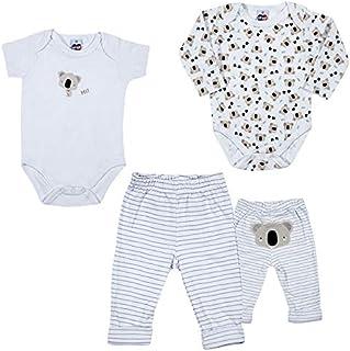 Kit 3 Peças Bebê, TipTop, Branco, RN