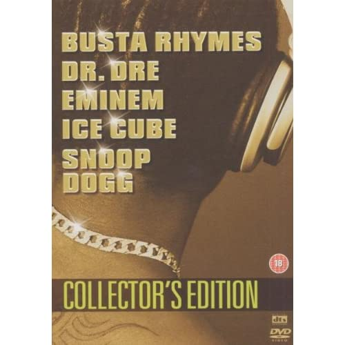 Hip Hop Box Box - Dr.Dre / Eminem / Ice Cube / Snoop Dogg (3 Dvd)