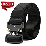 Tactical Belt,1.5 Inch Quick Release Heavy Duty Tactical Belt for Men-Tactical Belt for Cargo Pants