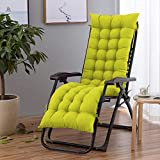 N/H Chaise Lounge Cushion Indoor Outdoor Recliner Sofa Pad Patio Chaise Lounger Cushion Bench Seasonal Replacement Cushions Thick Padded Chaise Rust Soft Comfortable Courtyard Longue Recliner Cushion