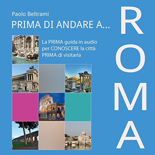 Prima di andare a Roma audiobook cover art
