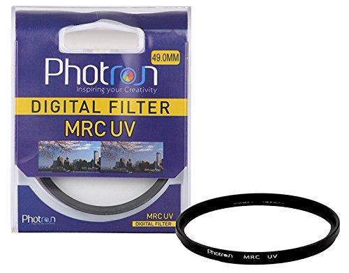 Photron 49mm MRC MC UV Digital Filter Multi Coated for Canon EF 50mm f1.8 STM & Sony DT 50mm f1.8 SAM Lens (Black)