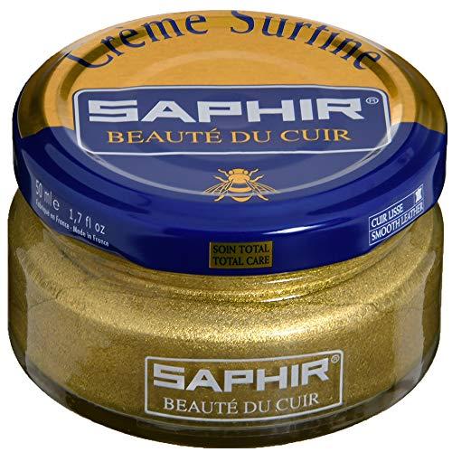 Saphir Crème Surfine Lederpflegemittel, Dose, Gold - Or Pâle - Größe: 50 ml
