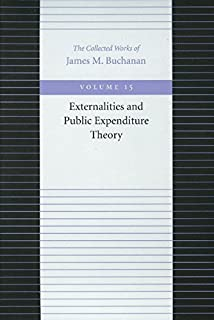 Externalities & Public Expenditure Theory: 15 (Collected Works of James M. Buchanan)