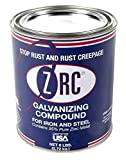ZRC 10002 Cold Galvanizing Compound | Single Quart | Iron and Steel Corrosion Protection | Matches Hot-Dip Galvanized Performance | Contains 95-Percent Metallic Zinc