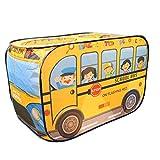 Colcolo Kinderspielzelt Creative Up Car Zelte Garden Beach Geburtstag Spielzeug Geschenk - Schulbus,...