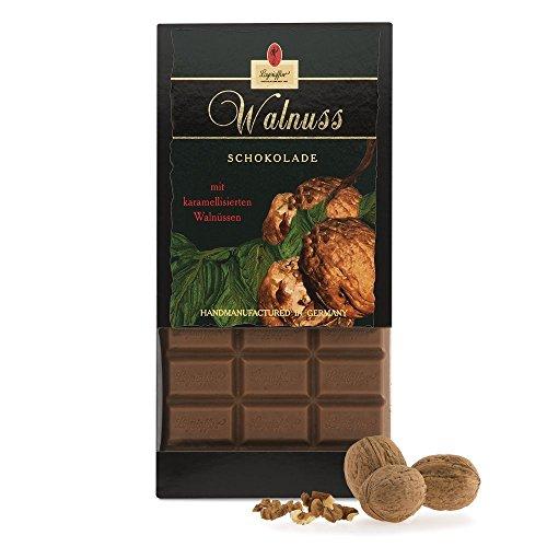 Leysieffer - Vollmilch Schokolade mit Walnuss