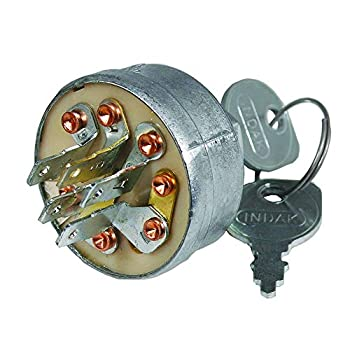 Indak Ignition Switch Gravely 044767 ea 1