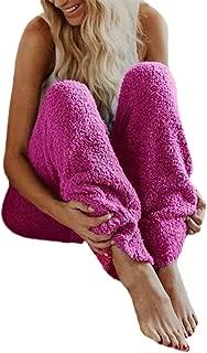 Winter Pants,Women Faux Fur Warm Solid Winter Warm Fitness Sport Leggings Fleece Pants