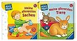 Ravensburger ministeps BÜCHER: Meine allererste Dinge + Meine aller primi Tiere: Dai 6 mesi in su
