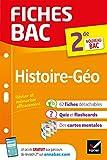 Fiches bac Histoire-Géographie 2de - Nouveau programme de Seconde 2019-2020