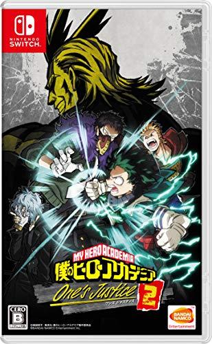 僕のヒーローアカデミア One's Justice2 -Switch (【早期購入特典】ゲーム内で2大特典が入手できるダウンロ...