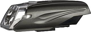 GENTOS(ジェントス) バイクライト 【明るさ200ルーメン/実用点灯6時間/防滴/広範囲照射】 単3形アルカリ電池3本使用 ガンメタル AX-002MG ANSI規格準拠