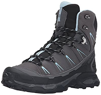 Salomon Women's X Ultra Trek GTX W Backpacking Boot Dark Cloud/Black/Cristal 6 M US