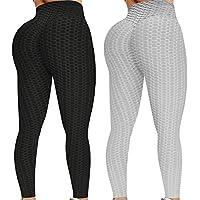 2-Pack KTGIREM TIK Tok Leggings for Women