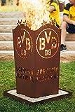 Borussia Dortmund BVB Feuerschale/Feuertonne/Feuerkorb ** Rost ** BVB-001