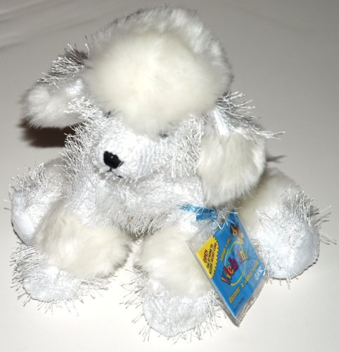 HM014 - 8.5' WHITE POODLE Webkinz New Code Sealed With Tag
