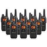Midland LXT600VP3 36 Channel FRS Two-Way Radio - Up to 30 Mile Range Walkie Talkie - Black (Pack of 12)