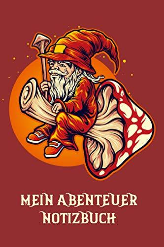 Mein Abenteuer Notizbuch | Magier | Das Notizheft für Rollenspieler | für Abenteuer Tagebuch | für alle Pen und Paper Systeme | 120 Seiten | Sechs ... | Tabletop | Brettspiel | Helden | Würfel