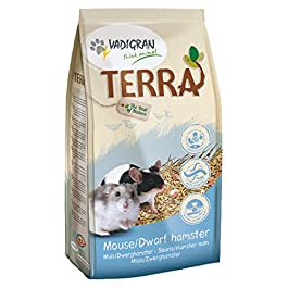 Vedigran Terra, Mouse & Dwarf Hamster Food with Fruits, Insects & Willow 700g