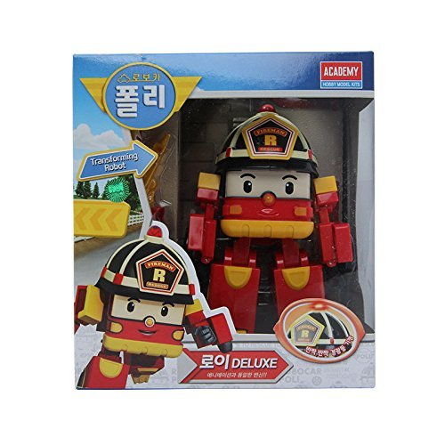 ROBOCAR POLI Deluxe Transformer Toy : Roy by Robocar Poli