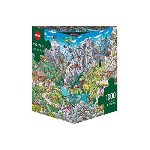 Heye Alpine Fun, Tanck Puzzle, Grey