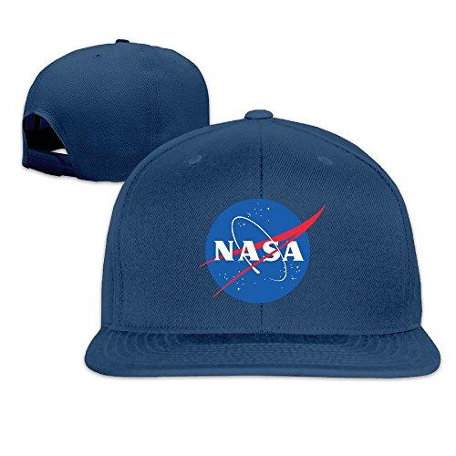 MEIKEY Unisex NASA Logo Deporte Logo Gorro