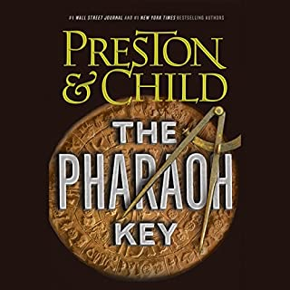 The Pharaoh Key audiobook cover art