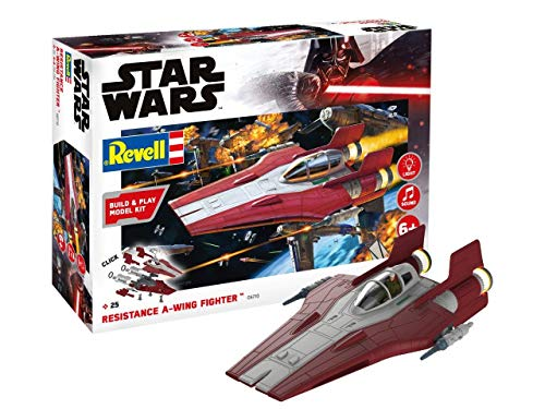 Revell Build & Play 06770 Resistance A-wing Fighter, 1:44...