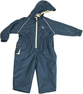 Hippychick Waterproof Fleeced Lined One Piece Coverall, Splashsuit, Snowsuit for Kids – Essential Outdoor Clothing