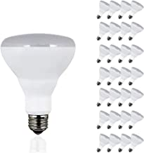 LED BR30 Dimmable Flood Bulb, 65W Replacement - 10 Watt - 650 Lumens - 5000K Daylight - Indoor/Outdoor Rated - UL & Energy Star, 24-Pack
