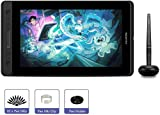 HUION Kamvas pro 12 Grafiktablett mit Display, 11,6 Zoll HD-Bildschirm Grafikmonitor mit 4 Schnelltasten,Digitalstift mit 8192 Druckempfindlichkeit, der die Neigefunktion unterstützt (Ohne Ständer)