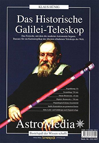 Astromedia Sunwatch Verlag Bausatz Das Historische Galilei-Teleskop