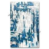 ZNYB Lienzos Pared Decorativos Decoración de Pared Hecha a Mano Real, Lienzo de Panel, Arte Abstracto, Textura Moderna, Pintura al óleo, Lienzo, Arte de Pared para la Sala de Estar del hogar