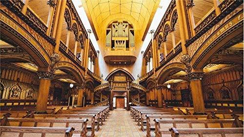 Rompecabezas Para Adultos 500 Piezas De Rompecabezas Juguetes De Madera De La Catedral De Notre Dame Paisaje Divertido Juego Art Deco Juguetes Educativos Para Adultos Y Niños Para Niños