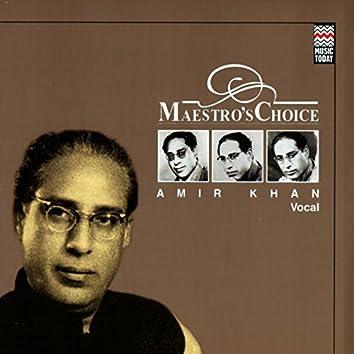 Maestro's Choice - Amir Khan