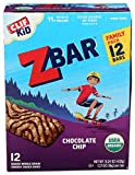 DELICIOUS TASTE: All the thick, chewy, goodness of a chocolate chip cookie - gone nutritious! SOFT-BAKED & WHOLE GRAIN: Zbar is an organic, soft & chewy granola bar made with 8-11g whole grains; it is also a good source of fiber ORGANIC & NON-GMO: CL...