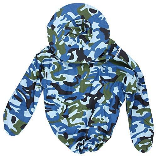 Jeffergrill Professional Imkerei beschermend mantel met mantel, jas, pak met hoed marineblauw